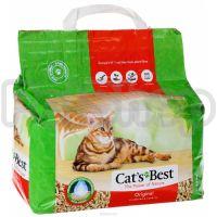 Подстилка Cats Best ORIGINAL ( Cat's Best OKO PLUS Эко Плюс) ( Древесный комкующийся наполнитель для кошачьего туалета)