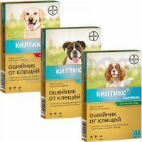Bayer Kiltix Килтикс ( Надежная защита от иксодовых клещей, а также блох и прочих эктопаразитов на 7 месяцев)