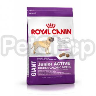 Royal Canin Giant Junior Active (сухой корм для щенков собак очень крупных размеров  (вес взрослой собаки более 45 кг) с высокими энергетическими потребностями)