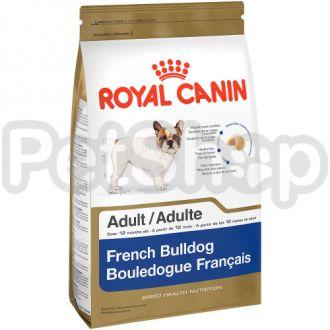 Royal Canin French Bulldog Adult (корм для собак породы французский бульдог в возрасте от 12 месяцев)