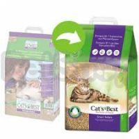 Cats Best SMART Pellets  (Cat's Best Nature Gold)  Идеальный древесный комкующийся наполнитель для длинношерстных кошек