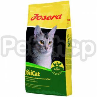 JosiCat Geflügel йозера (полнорационный сухой корм корм премиум класса для малоактивных взрослых кошек с мясом домашней птицы)