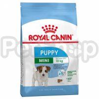 Royal Canin Mini PUPPY (Junior) (корм для щенков мелких пород (вес взрослой собаки до 10 кг) с 2 до 10 месяцев)