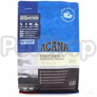 Acana Chicken & Burbank Potato (акана корм для собак с курицей/картофелем)