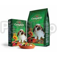 Padovan Coniglietti Premium корм с кокцидиостатом для кроликов