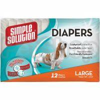 SS Disposable Diapers Large (12 p) /Гігієнічні підкладки для тварин великі по 12шт