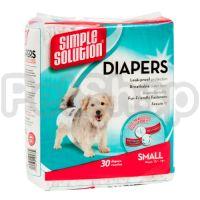 SS Disposable Diapers Small (12 p) /Гігієнічні підкладки для тварин малі по 12шт