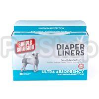 SS Disposable Diaper Liners -Heavy Flow (10P)/ Гігієнічні підкладки для тварин по 10шт