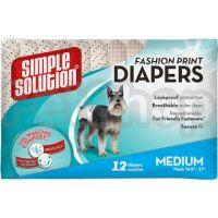 SS Fashion Disposable Diapers Medium (12 p) /Гігієнічні підкладки для тварин середні по 12шт