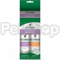 VET`S BEST Ear Relief Wash & Dry (2х118 мл)