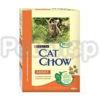 Cat Chow Adult Turkey&Chicken (кэт чау корм для котов с индейкой/курицей)