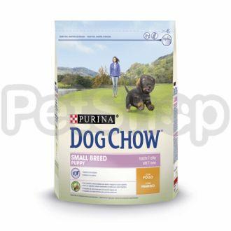 Dog Chow Puppy Small Breed (Дог Чау Паппи Смол Брид) курица и рис для щенков мелких пород