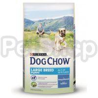 Дог Чау Dog Chow Puppy Large Breed корм для щенков крупных пород с индейкой