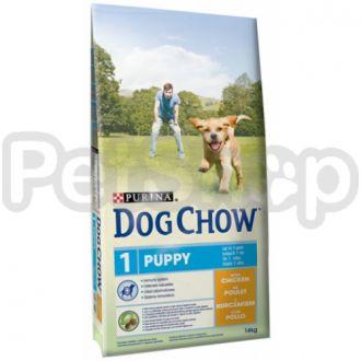 Дог Чау Dog Chow Puppy Lamb Корм для щенков с ягненком