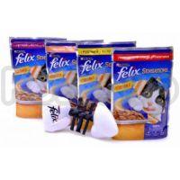 Феликс Felix Sensations Jellies  Кусочки с говядиной и томатами в желе
