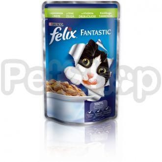 Феликс Felix Fantastic  кусочки с кроликом в желе