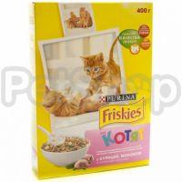 Фрискис FRISKIES для котят с молоком/курицей/овощами