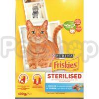 Фрискис FRISKIES для кастрированных котов лосось/овощи