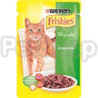 Фрискис Friskies консерва с кроликом в подливе