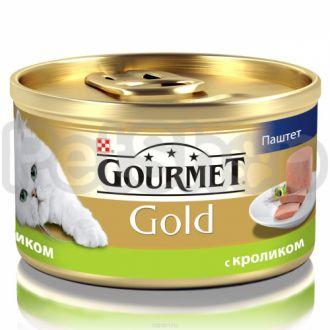 Гурмет голд GOURMET GOLD паштет кролик