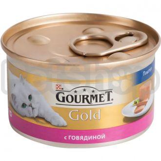 Гурмет голд GOURMET GOLD паштет говядина
