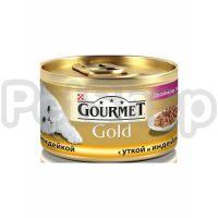 Гурмет голд GOURMET GOLD кусочки в соусе утка/индейка