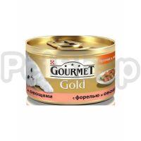 Гурмет голд GOURMET GOLD кусочки в соусе форель/овощи