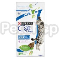 Cat Chow 3in1 (кэт чау корм для котов 3в1)