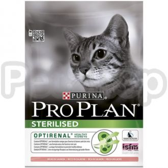 Pro Plan Sterilised Salmon (про план для стерилизованных котов с лососем)