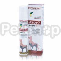 ATOP-7 Spray успокаивающий спрей для собак с сухой кожей, атопией