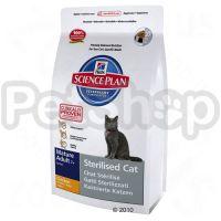 Hill's SP Feline Mature Adult 7+ Sterilised Cat (хиллся для стерилизованных котов старше 7 лет)