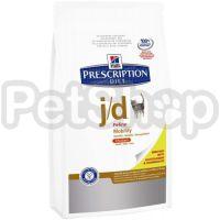 Hill's PD Feline j/d (хиллс сухой корм для  кошек с артритами и остеоартритами)