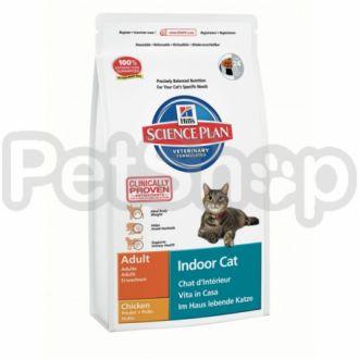 Hill's SP Adult Indoor Cat (хиллс корм для домашних котов)