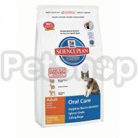 Hill's SP Feline Adult Oral Care (хиллс корм для котов для снижения образования зубного налета и зубного камня)
