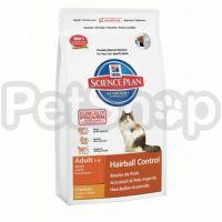 Hill's SP Feline Adult Hairball Control (хиллс корм для котов для выведения шерсти)