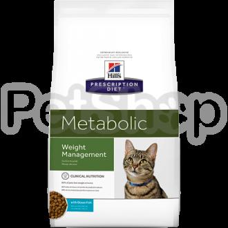 Hill's PD Metabolic Feline (хиллс Лечебный корм для снижения и поддержания веса у кошек)