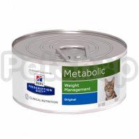 Влажный корм для кошек с избыточным весом Hill's (Хиллс) PRESCRIPTION DIET Metabolic - 156 г