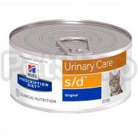 Влажний корм для котов Hill's prescription diet s/d 15