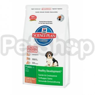Hill's SP Puppy Healthy Development Lamb (хиллс корм для щенков с ягненком)