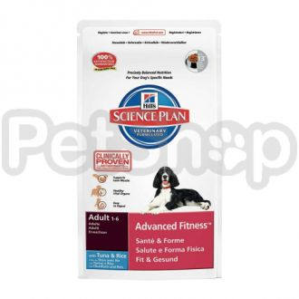 Hill's SP Canine Adult Advanced Fitness Tuna (хиллс корм для активных собак с тунцом)