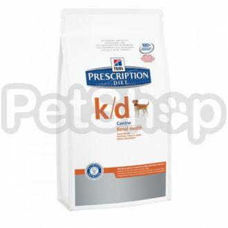 Hill's PD Canine k/d (хиллс корм для собак с болезнями почек)