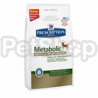 Hill's PD Metabolic Canine (хиллс корм для собак для снижения веса дома)
