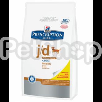 Hill's PD Canine j/d Reduced Calorie (хиллс корм для собак с проблемами суставов)