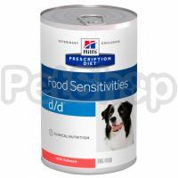 Влажный корм Hills Prescription Diet Canine d/d со вкусом лосося