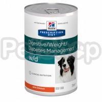Консерва Hills PD Canine r w/d 370 г для собак при цукровому діабеті