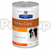 Консерва Hills PD Canine k/d 370 г для собак з куркою