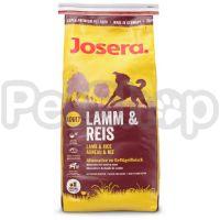 Josera Lamb & Rice (йозера ягненок/рис корм для собак)