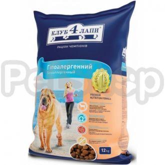 Клуб 4 лапы для взрослых собак с ягненком и рисом