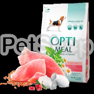 Optimeal Medium Adult Dog Сухой корм для взрослых собак средних пород с индейкой