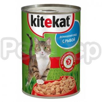 Китекат (Kitekat) консерва с рибой